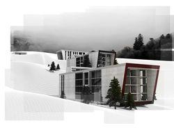 Apartment building in Goris