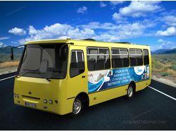 Макет на автобус