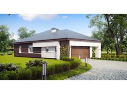 Дизайн-экстерьера дом 180м2 г.Волгоград