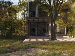 Дизайн-экстерьера дом 168м2 г.Сочи