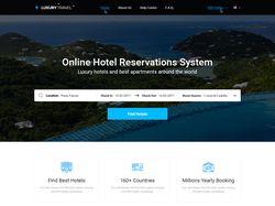 Дизайн сайта Luxury Travel