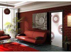 Дизайн интерьера, визуализация