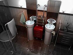 Дизайн интерьера. Ванная комната.