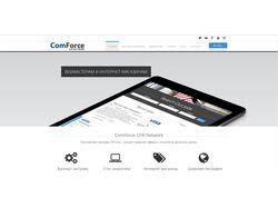 Сайт CPA сети comforce.ru