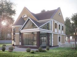 Моделирование и визуализация загородного дома