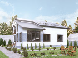 проекта загородного дома  (Украина)