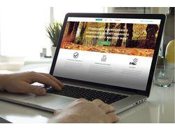 Корпоротивный сайт