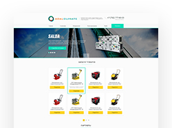 Корпоративный сайт -  Adal Climate