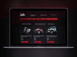 Корпоративный сайт -  Фан сайт любителей FreeRide
