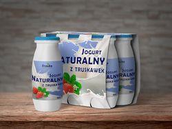 Дизайн упаковки для йогурта