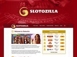 "Редизайн сайта ""Slotozilla"""