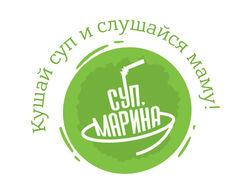 Логотип и фирменный стиль для доставки еды