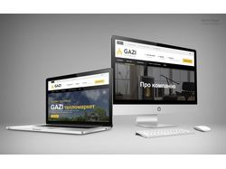 Сайт GAZI - тепломаркет