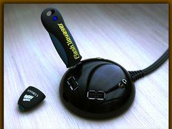 USB 2.0 Mini Hub.
