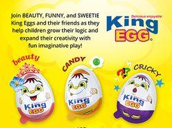 Вкладыш для шоколадного яйца KIng Egg