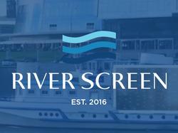 Сайт теплохода с рекламным экраном RIVERSCREEN