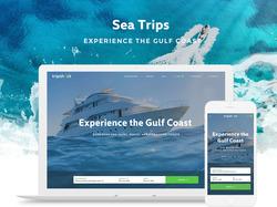 Адаптивный дизайн сайта. Туризм, путешествия.