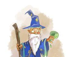 Старый волшебник.