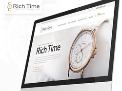Дизайн интернет-магазина брендовых часов