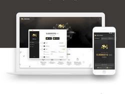 Дизайн сайта-визитки криптовалюты SMCoin