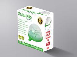 Дизайн упаковки Salad GO