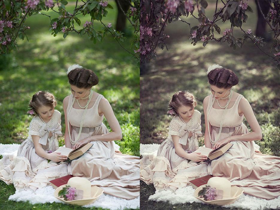 Обработка фотографии в классическом стиле