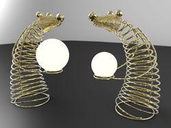 Моделирование и дизайн настольных светильников