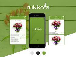 """Дизайн мобильного приложения """"Rukkola"""""""