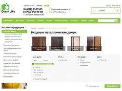Интернет-магазин дверей