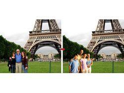 Замена объектов на фото