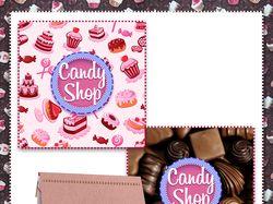 Candy Shop - фирменный логотип компании