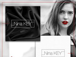 Nina KEY – фирменный логотип для компании