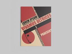 Обложка в стиле Bauhaus