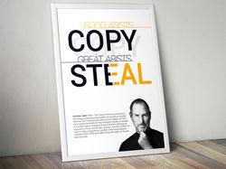 Плакат «Steven Jobs»