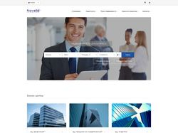 Дизайн сайта недвижимости