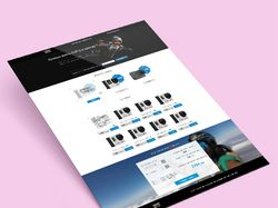 Дизайн лендинга для компании Frame Rental