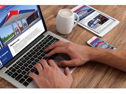 Дизайн веб сайта Еврогаз