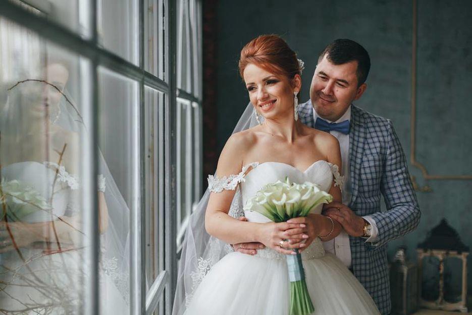 Обработка свадебных фотографий под пленку кустарники