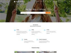 Функциональный сайт для риелтора из Калифорнии