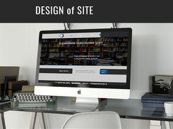 Сайт полиграфических услуг для РИЦ