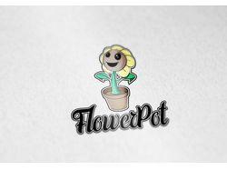 Лого FlowerPot