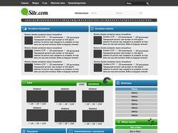 Дизайн для развлекательного сайта.