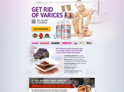 """CPA USA LANDING PAGE """"Varices"""""""
