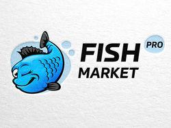 Фирменный логотип для интернет магазина