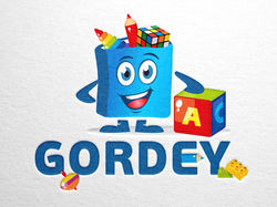 Логотип для компании по производству игрушек