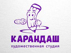 Логотип для детской художественной студии