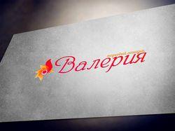 """логотип для магазина """"Валерия"""""""