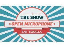 Open Mic Show: Tequila Bar