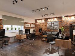 Офисное помещение в стиле лофт