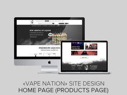 """VapeNation"" Online Store"